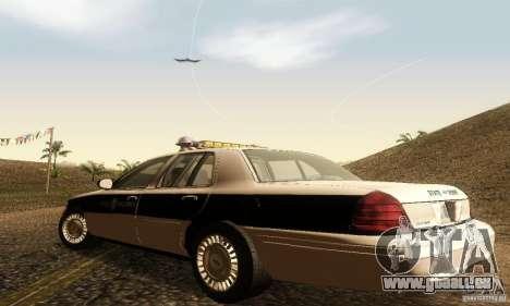 Ford Crown Victoria New Corolina Police für GTA San Andreas linke Ansicht