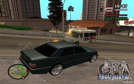 Tirer hors de la voiture dans GTA 4 pour GTA San Andreas deuxième écran