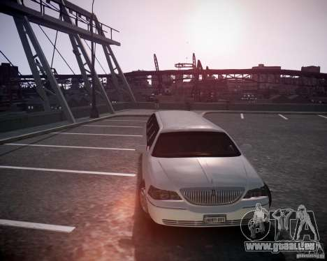 Lincoln Town Car Limousine für GTA 4 hinten links Ansicht