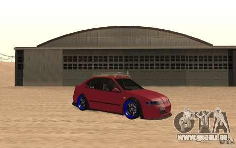 Seat Toledo 1999 Tuned pour GTA San Andreas laissé vue