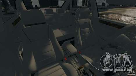 Audi RS6 2003 pour GTA 4 est une vue de l'intérieur