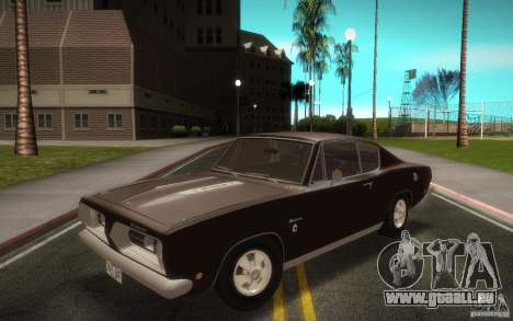 Plymouth Barracuda Formula S pour GTA San Andreas