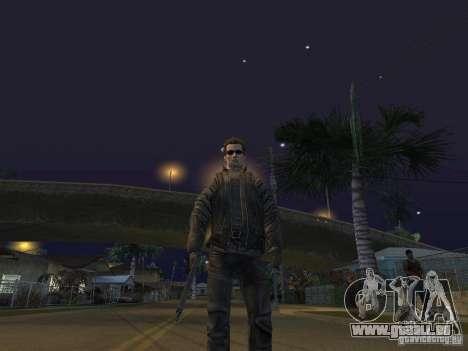 Terminator pour GTA San Andreas quatrième écran