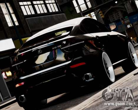 BMW X6 Tuning v1.0 pour GTA 4 est une gauche