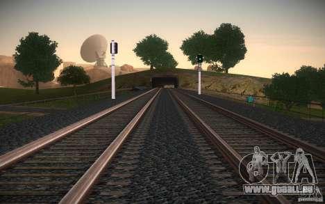 HD Schienen V 2.0 Final für GTA San Andreas sechsten Screenshot