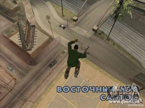 Sauter le Jet pack pour GTA San Andreas troisième écran