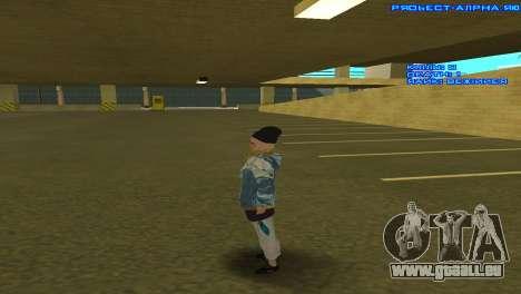 Vagos Girl für GTA San Andreas her Screenshot