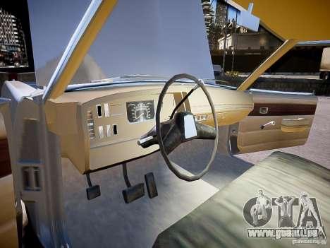 Dodge Dart 1975 für GTA 4 Rückansicht