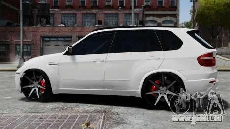 BMW X5M pour GTA 4 est une gauche