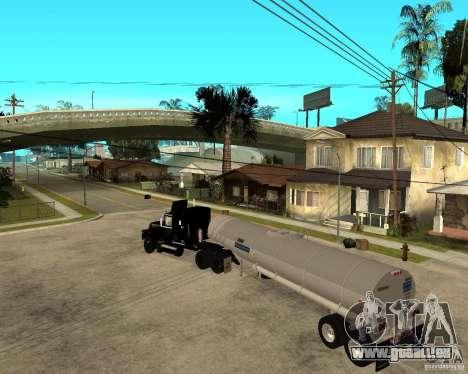 Rubber Duck Mack pour GTA San Andreas laissé vue