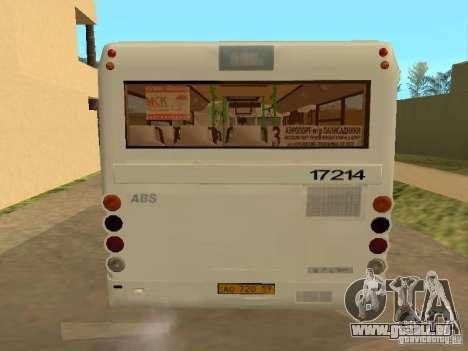 GROOVE-3237 für GTA San Andreas Innenansicht