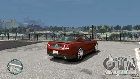 Ford Mustang Boss 302 2012 für GTA 4 rechte Ansicht