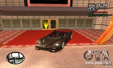 Ferrari F50 Cabrio für GTA San Andreas
