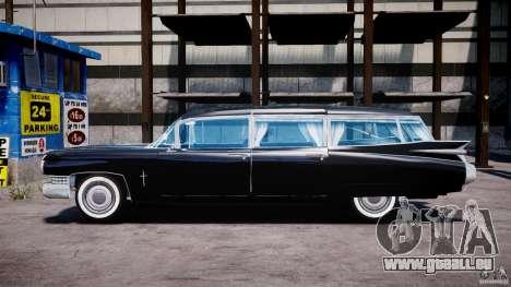 Cadillac Miller-Meteor Hearse 1959 für GTA 4 linke Ansicht