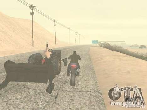 PKW mit Anhänger für GTA San Andreas sechsten Screenshot