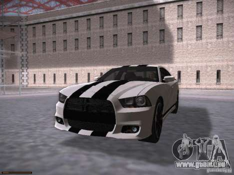 Dodge Charger SRT8 2012 pour GTA San Andreas vue de droite