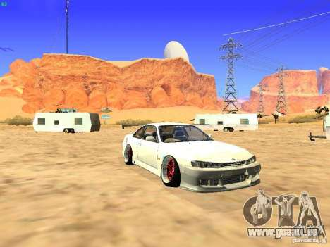 Nissan Silvia S14 JDM pour GTA San Andreas vue arrière
