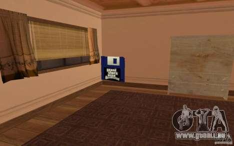 Une Villa pour GTA San Andreas septième écran