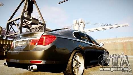 BMW 750Li (F02) Hamann 2010 v2.0 pour GTA 4 est un côté
