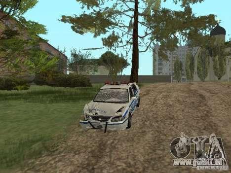 Police de GTA 4 pour GTA San Andreas vue intérieure