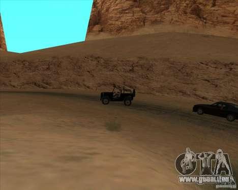 Cowboy duel v2.0 pour GTA San Andreas deuxième écran