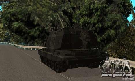 Msta-s 2s19, version standard pour GTA San Andreas vue de droite