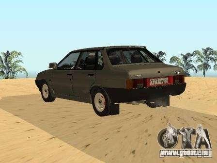 VAZ 21099 Sommer für GTA San Andreas linke Ansicht