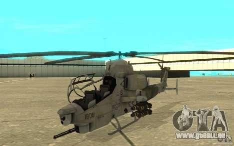 Cobra pour GTA San Andreas laissé vue