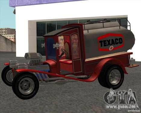 Ford model T 1923 Ice cream truck pour GTA San Andreas sur la vue arrière gauche
