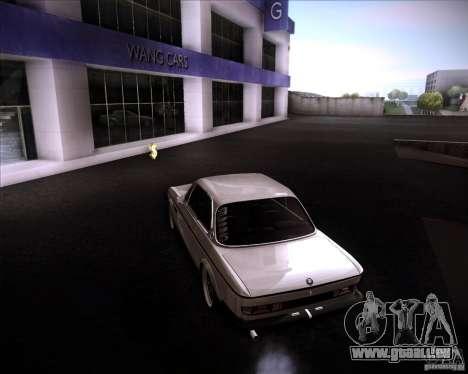 BMW 3.0 CSL Stunning 1971 pour GTA San Andreas laissé vue