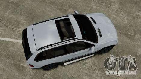 BMW X5 4.8IS BAKU pour GTA 4 est un droit