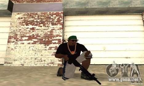 Browning M1919 für GTA San Andreas zweiten Screenshot
