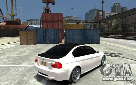 BMW 330i E60 Tuned 1 für GTA 4 rechte Ansicht