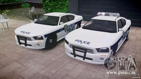 FIB Buffalo NYPD Police pour GTA 4 est une vue de dessous