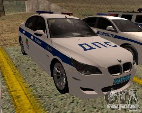 BMW M5 E60 DPS pour GTA San Andreas