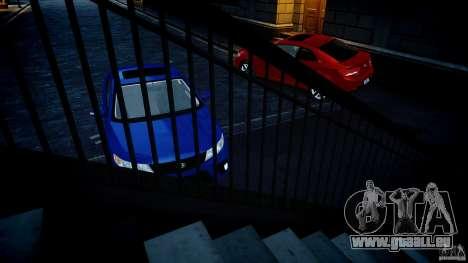 KIA Forte Koup pour GTA 4 est une vue de l'intérieur