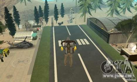 New CJs Airport pour GTA San Andreas deuxième écran