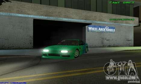 Nissan Silvia S13 Tunable pour GTA San Andreas vue de côté