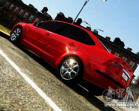 Ford Focus 2008 pour GTA 4 est une gauche