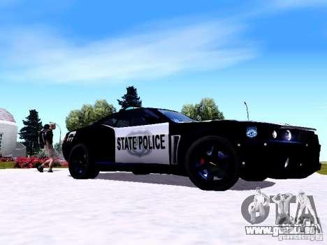 NFS Undercover Cop Car MUS für GTA San Andreas