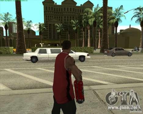 Blood Weapons Pack pour GTA San Andreas deuxième écran