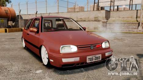 Volkswagen Golf MK3 Turbo pour GTA 4