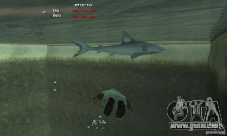 Shark Killer pour GTA San Andreas