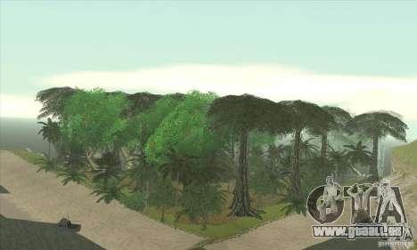 Tropische Insel für GTA San Andreas her Screenshot