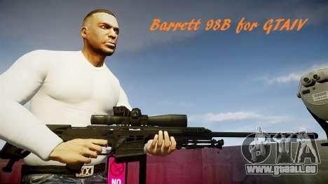 Barrett 98 b (sniper) pour GTA 4