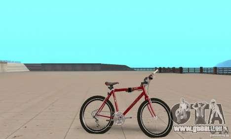Chongs Mountain Bike pour GTA San Andreas sur la vue arrière gauche