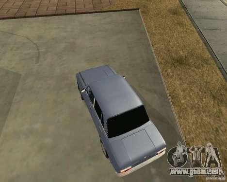 Kopeika (korrigiert) für GTA San Andreas linke Ansicht
