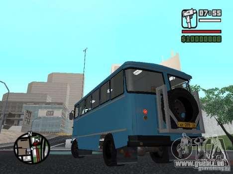 SYD-03 Chernigov für GTA San Andreas Rückansicht