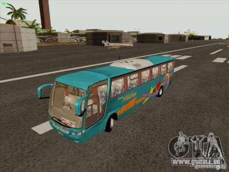 Mercedes-Benz Vissta Buss LO pour GTA San Andreas vue intérieure