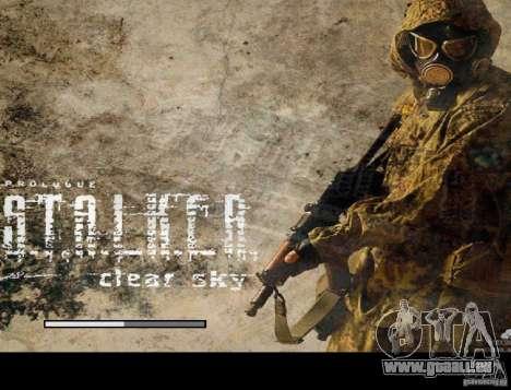 Nouvel écran de démarrage STALKER pour GTA San Andreas cinquième écran